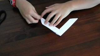 How To Make An Origami Boomerang!!!