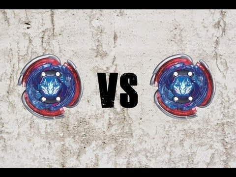 Beyblade Big Bang Pegasis F:D VS Big Bang Pegasis F:D