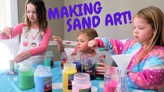 Riding Horses, Sand Art, Fan Mail & Powerwheels Fun with Lily