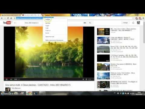 Como baixar hinos CCB do Youtube sem instalar programas