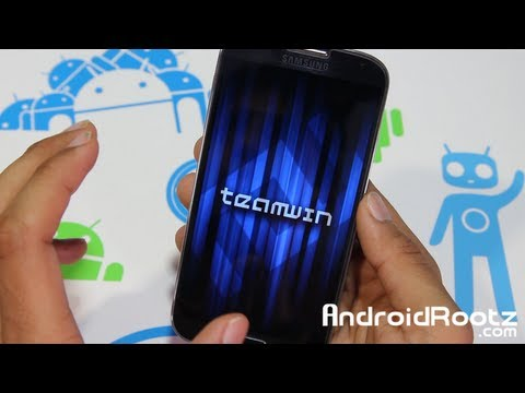 How to Install TWRP on a Rooted Galaxy S4!