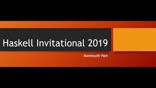 Haskell Invitational 2019