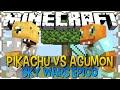 PIKACHU vs AGUMON - SKY WARS ÉPICO ( ft Authentic )