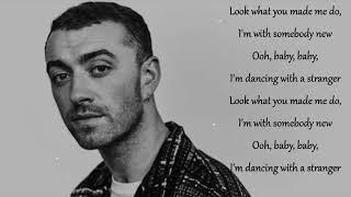 Sam Smith - Dancing with Stranger Lyrics