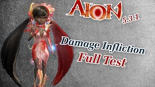 Aion 5.3.1 - Damage Infliction vs. Level Difference #2 [Full Test]