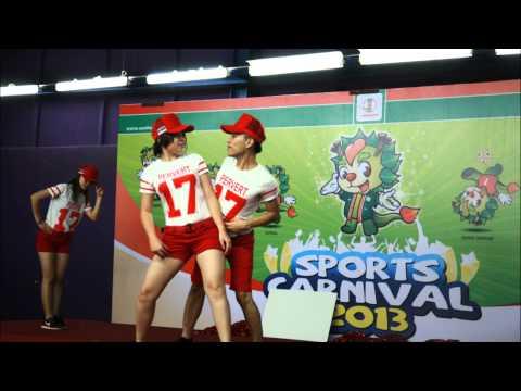 Senheng Sports Day Pom Pom Sexy Gal Pretty Entertainment 2013 - Br Division video