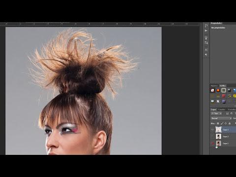 Recorte de cabello por canales en Photoshop