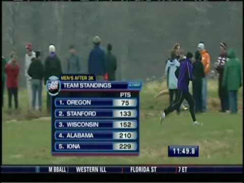2008 NCAA Men&#039;s Cross Country D1 Championship Race (2 of 4)