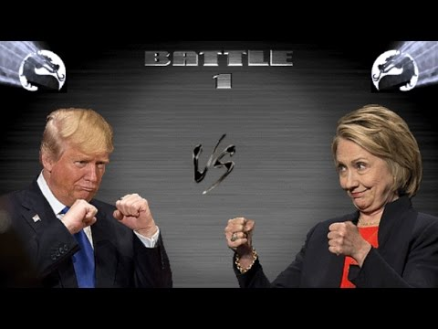 Политический Мортал Комбат 11: Трамп vs Клинтон