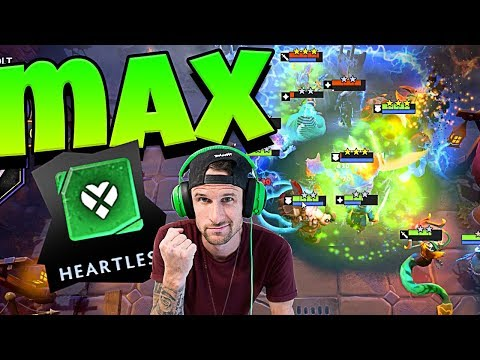 💀DOTA UNDERLORDS MAX HEARTLESS WIN!