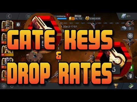 How To Get Gate Keys + The Drop Rates [Marvel Contest of Champions]