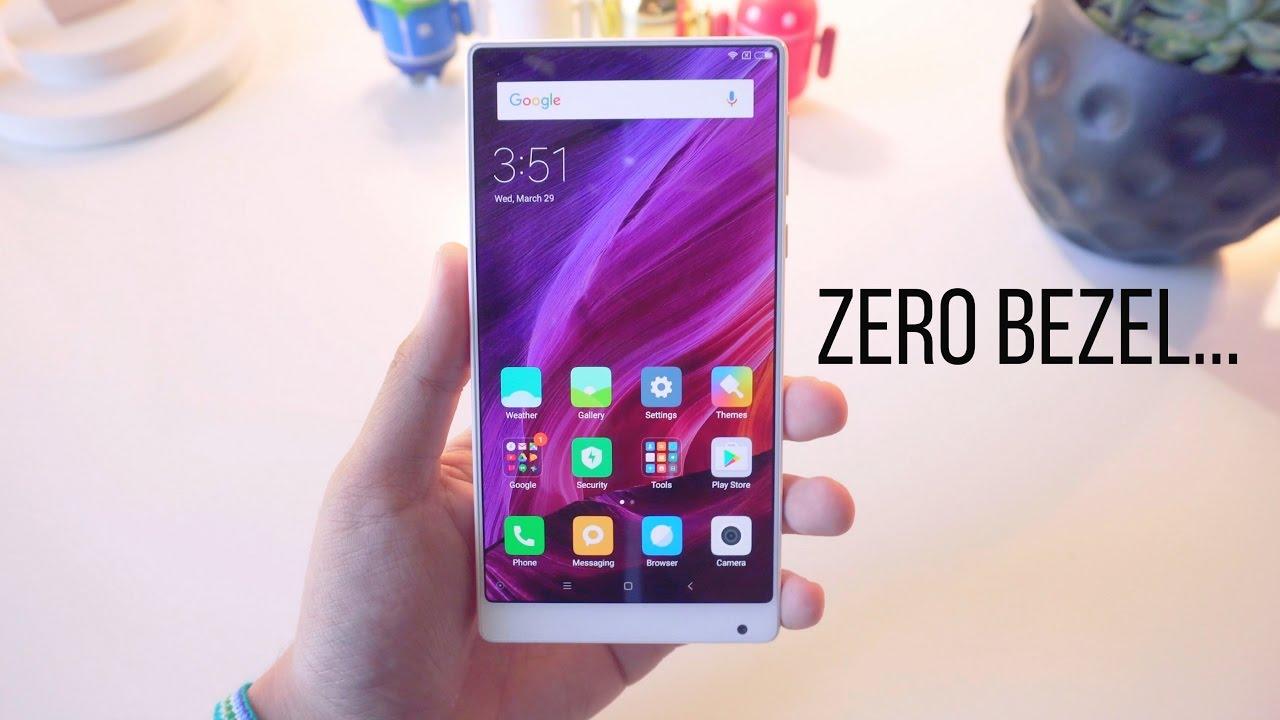 White Xiaomi Mi Mix Unboxing + 1st Impressions!