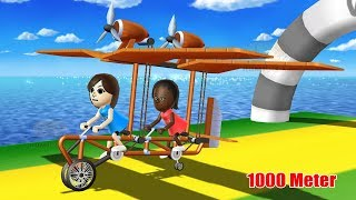Game For Kids : Flycycle Team - Wii Party U   Funny Game for Kid Part 29