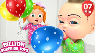 Kids Balloon Song  | BillionSurpriseToys Nursery Rhyme & Kids Songs