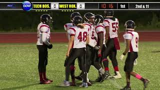 Game of the Week: North Div 8 Qtr Finals - Tech Boston vs West Roxbury