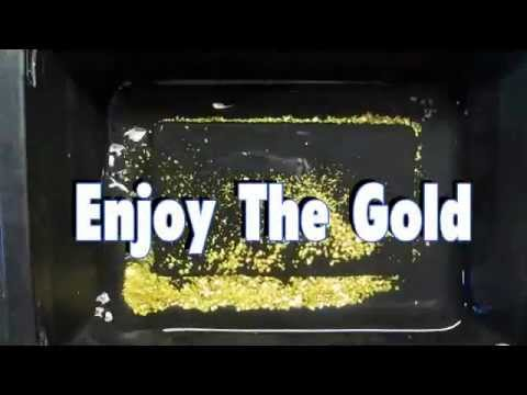 Part 4 -  Black Sand & 28.2 Grams of GOLD!  the UnderFlow Sluice