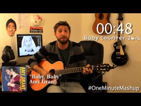"Songs That Repeat The Word ""Baby"" - One Minute Mashup"