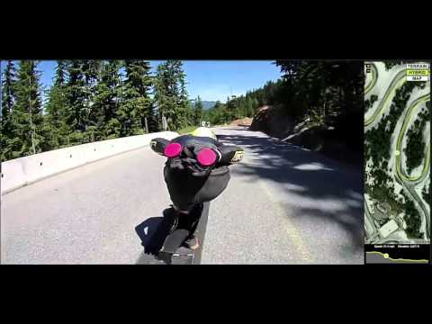 Whistler Longboard Festival Gnarpographer 3000 run with James Kelly - Push Culture News