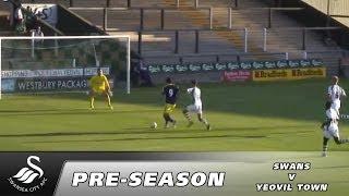 Swansea City Video: Yeovil Town v Swansea City - Highlights