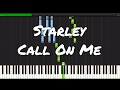 Starley - Call On Me Piano Tutorial mp3 download