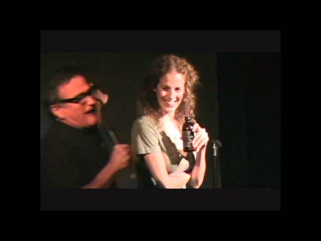 Morgan Murphy and Robin Williams at Laff Hole