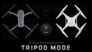How to Fly in Tripod Mode: From Where I Drone with Dirk Dallas