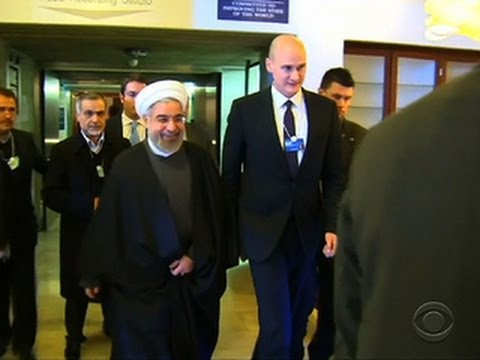 Iran's president tells Davos his country is open for business