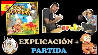 Jugando a Crazy Coconuts, Gameplay (ESPAÑOL) Juegos de mesa -Games On Board-