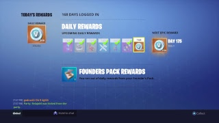 Fortnite Daily Item shop and duo tournament