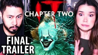 IT CHAPTER TWO   Final Trailer   Reaction   Stephen King   Jessica Chastain, James McCoy, Bill Hader