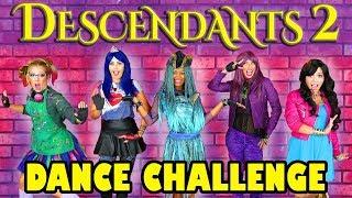 Descendants 2 Dance Challenge Uma's Dance-Off. Totally TV