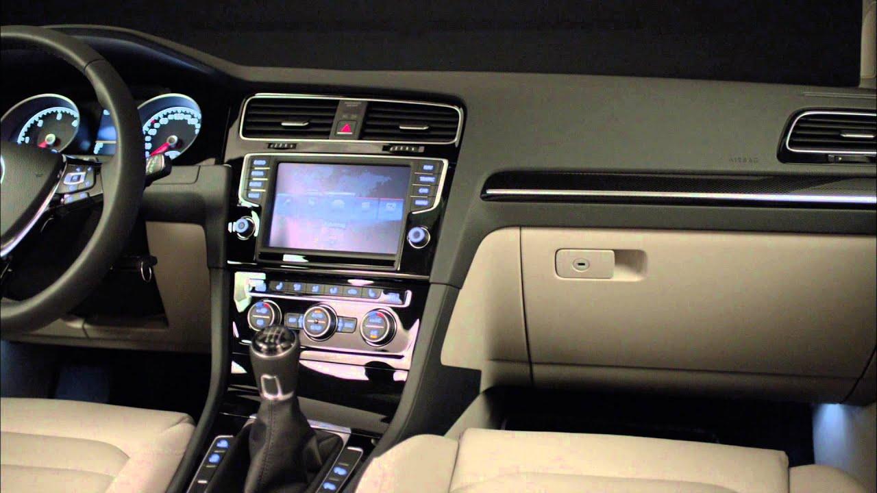 2014 volkswagen golf variant estate interior footage youtube for Interior golf variant