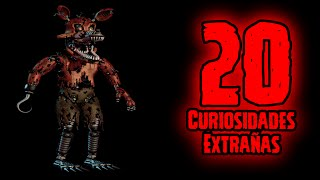 TOP 20: 20 Curiosidades Extrañas De Nightmare Foxy De Five Nights At Freddy