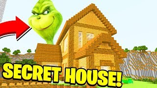 Minecraft: WE FOUND THE GRINCH'S SECRET HOUSE! (Ps3/Xbox360/PS4/XboxOne/PE/MCPE)
