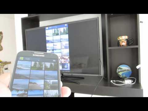 Conectar TV a Internet utilizando un Galaxy S4 / S5 (mediante HDMI / MHL)