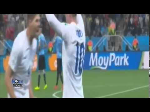 Inghilterra-uruguay 1-2 tutti i gol 19/06/2014