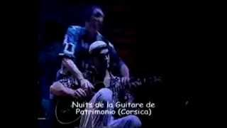 I WISH by Stevie Wonder ( one guitar four hands) Antonio Forcione & Neil Stacey having fun