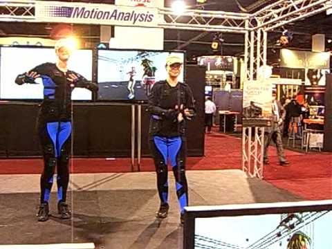 Creating 3D avatars  movies using motion capture analysis NAB 2009  # 1