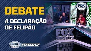 PALMEIRAS JOGA COMO O LIVERPOOL? O FOX Sports Radio debateu a declaração de Felipão