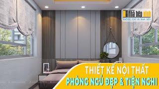 Phòng ngủ sắc màu tự nhiên - Nhà Bếp Xinh