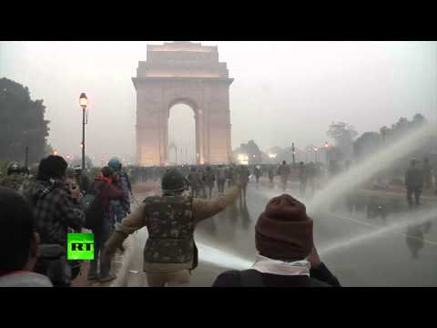 Gang-rape Anger: Video Of Violent Protests Gripping India video