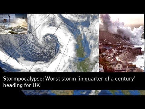 The United Kingdom is flooding.