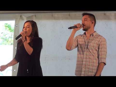 [HD] Varga Vivien & Pál Dénes - Csodálatos világ (Kisigmánd, Falunap 2017-07-15)