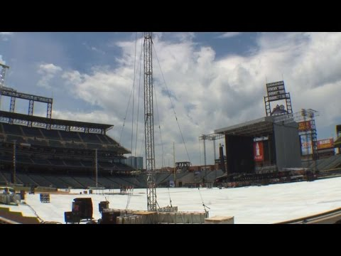 Zac Brown Band stage time lapse