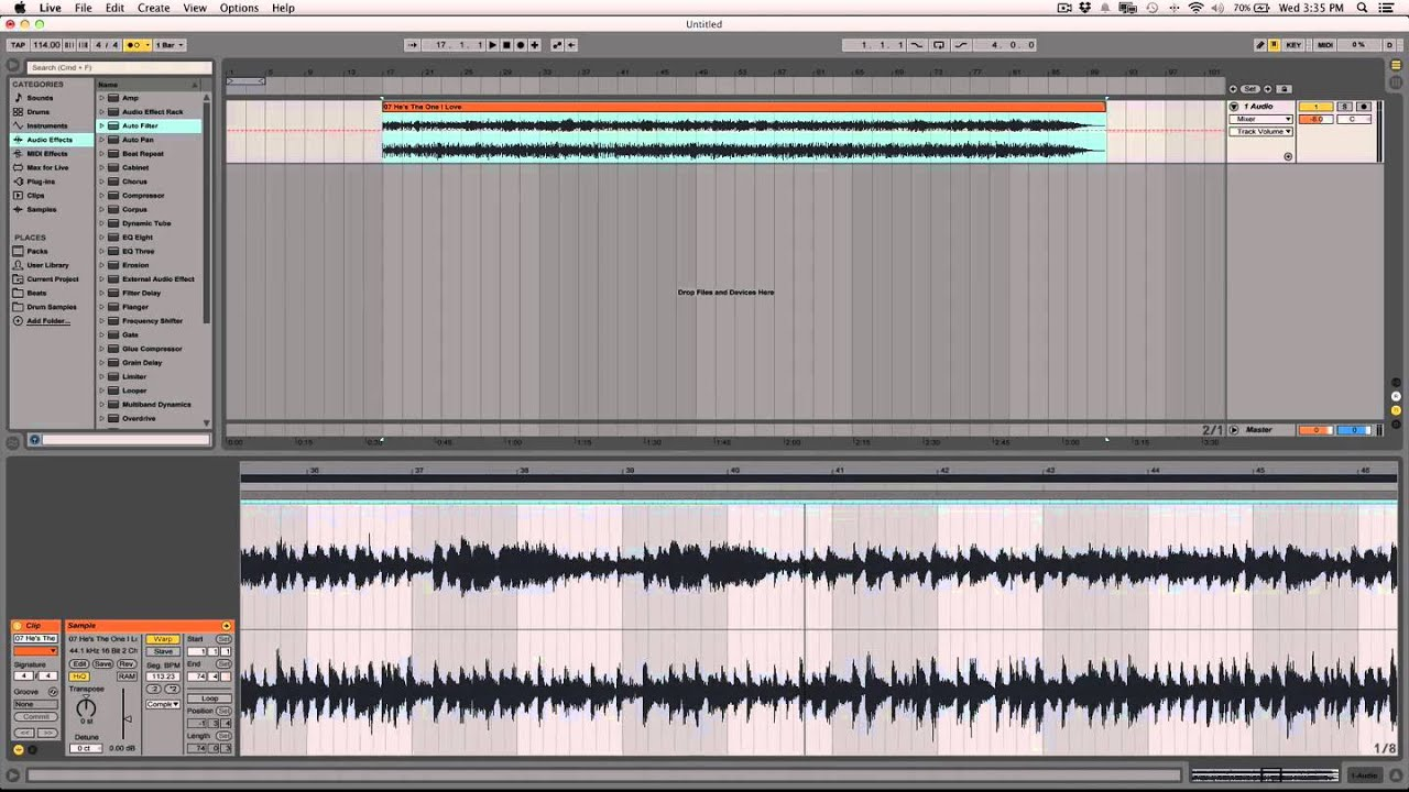how to add drums in ableton