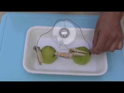 Cómo hacer una batería con un limón (HQ) -  How to make a lemon battery .