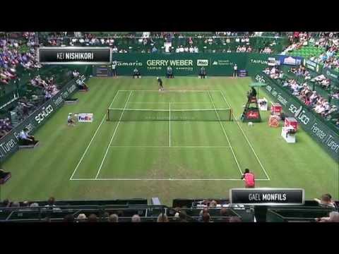 Gerry Weber Open 2014 Achtelfinale: Gael Monfils vs. Kei Nishikori