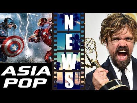 Asia Pop Captain America Civil War Trailer, Emmys 2015 Review aka Reaction - Beyond The Trailer