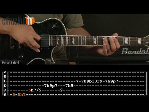 Seek And Destroy - Metallica (aula de guitarra completa)