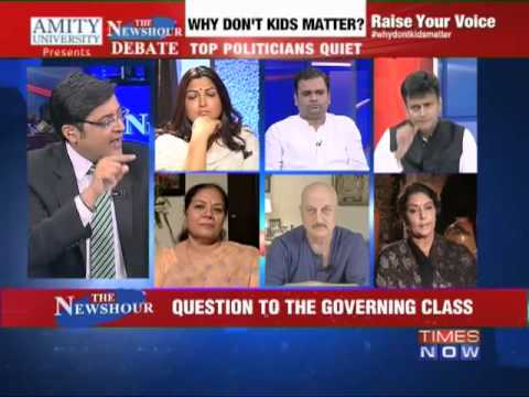 The Newshour  Debate: Why don't kids matter?-FULL DEBATE